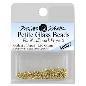 Бисер Petite Glass Beads Gold Mill Hill