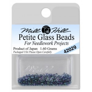 Бисер Petite Glass Beads Tapestry Teal Mill Hill