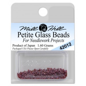 Бисер Petite Glass Beads Royal Plum Mill Hill