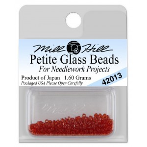 Бисер Petite Glass Beads Red Red Mill Hill