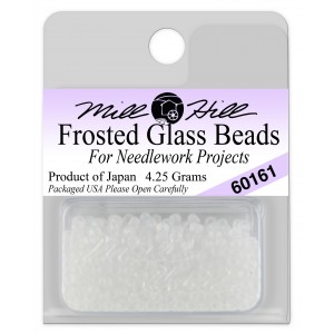 Бисер Frosted Glass Beads Crystal Mill Hill