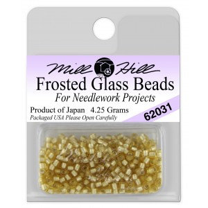 Бисер Frosted Glass Beads Gold Mill Hill