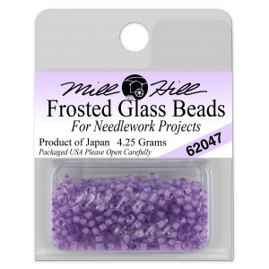 Бисер Frosted Glass Beads Lavender Mill Hill