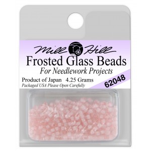 Бисер Frosted Glass Beads Pink Parfait Mill Hill