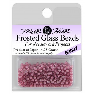 Бисер Frosted Glass Beads Mauve Mill Hill