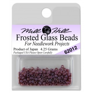Бисер Frosted Glass Beads Royal Plum Mill Hill
