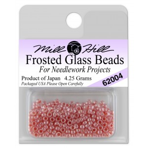 Бисер Frosted Glass Beads Tea Rose Mill Hill