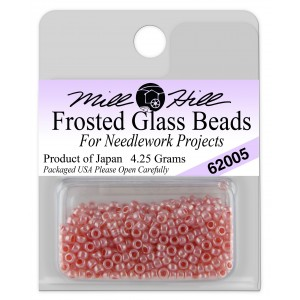 Бисер Frosted Glass Beads Dusty Rose Mill Hill