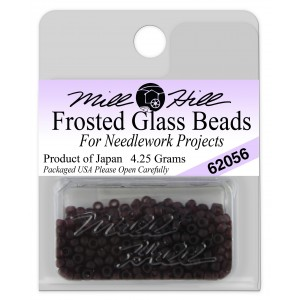 Бисер Frosted Glass Beads Boysenberry Mill Hill