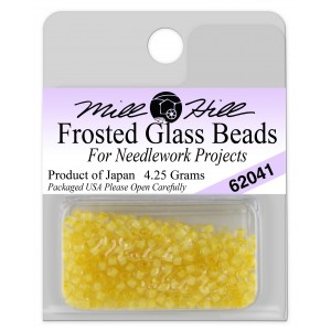 Бисер Frosted Glass Beads Buttercup Mill Hill