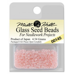 Бисер Glass Seed Beads Pink Mill Hill