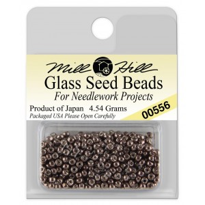 Бисер Glass Seed Beads Antique Silver Mill Hill