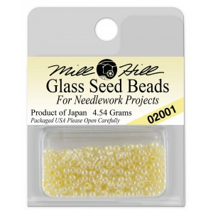 Бисер Glass Seed Beads Pearl Mill Hill