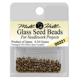 Бисер Glass Seed Beads Bronze Mill Hill