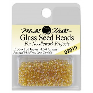 Бисер Glass Seed Beads Crystal Honey Mill Hill