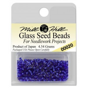 Бисер Glass Seed Beads Royal Blue Mill Hill