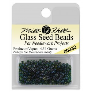 Бисер Glass Seed Beads Emerald Mill Hill