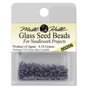 Бисер Glass Seed Beads Violet Mill Hill