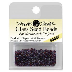 Бисер Glass Seed Beads Garnet Mill Hill