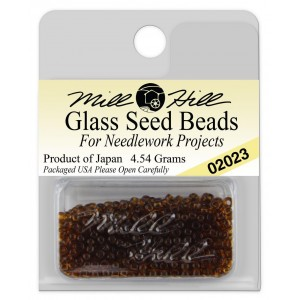 Бисер Glass Seed Beads Root Beer Mill Hill