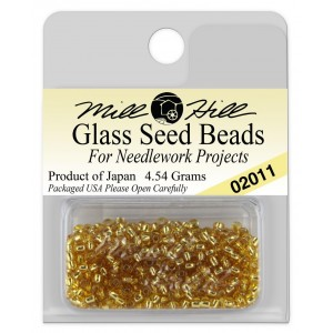 Бисер Glass Seed Beads Victorian Gold Mill Hill