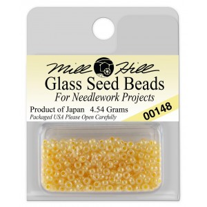 Бисер Glass Seed Beads Pale Peach Mill Hill
