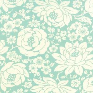 Ткань Hello Darling Floral Mum Aqua Moda Fabrics