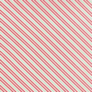 Ткань Hello Darling Red Aqua Summer Stripe Moda Fabrics