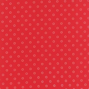 Ткань Hello Darling Red Cream Lollies Moda Fabrics
