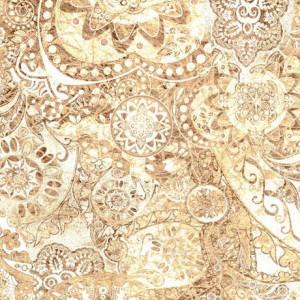 Ткань BOHEMIAN RHAPSODY CREAM, Quilting Treasures