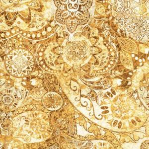 Ткань BOHEMIAN RHAPSODY SANDCASTLE, Quilting Treasures