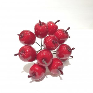 Яблоки на проволоке 2.5х3х13 см