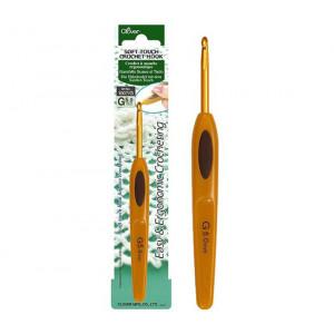 Крючок для вязания Soft Touch 5.0мм Clover