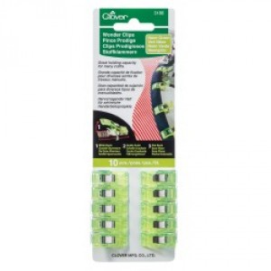 Чудо-клипсы цвет зеленый неоновый 10 шт. Clover