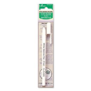 Ручка белая водо/утюгоисчезающая Clover