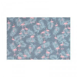 Ткань Daily Like Charming Flamingo Blue Grey