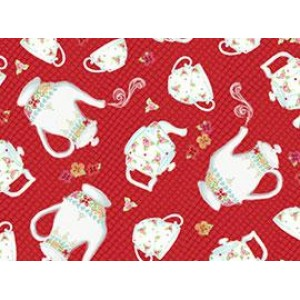 Ткань Afternoon Delight Red Quilting Treasures