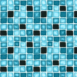 Ткань BOX GEOMETRIC TURQUOISE Quilting Treasures