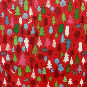 Ткань CRISTMAS-TREE SERIES Kingston Fabrics