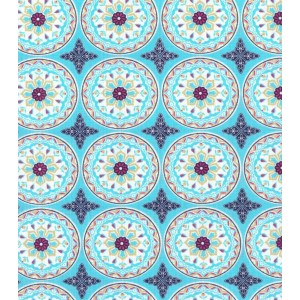 Ткань Olivia Collection Cotton Fabric-Kaleidoscope Medallions Buttercream