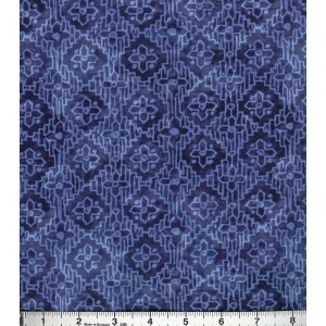 Ткань Poppy Collection Cotton Fabric-Tonal Aztec Navy Buttercream