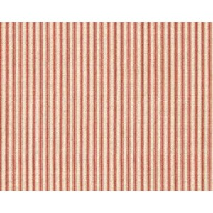 Ткань Drift Away Red Ticking Stripe Cotton Fabric, Windham Fabrics
