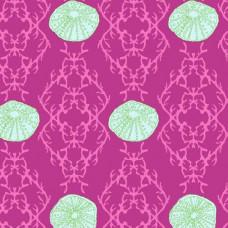 Ткань SEA URCHES PINK Andover Fabrics