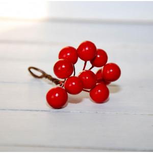 Ягоды гладкие цвет Красные размер 1 см