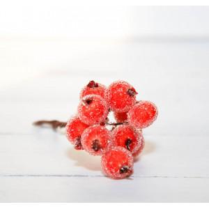 Ягоды в сахаре цвет Оранжевый размер 1 см