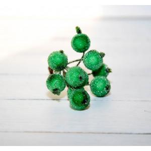 Ягоды в сахаре цвет Зеленый размер 1 см