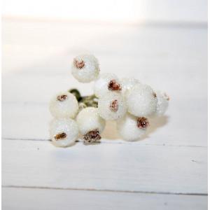 Ягоды в сахаре цвет Белые размер 1 см