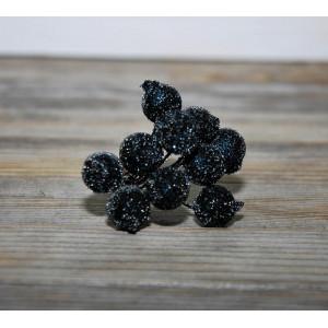 Ягоды в сахаре цвет Черный размер 1 см