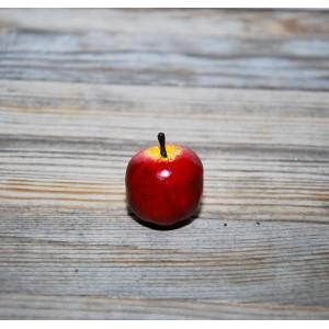 Яблоко цвет Красный размер 2,5 см