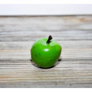 Яблоко цвет Зеленое размер 2,5 см
